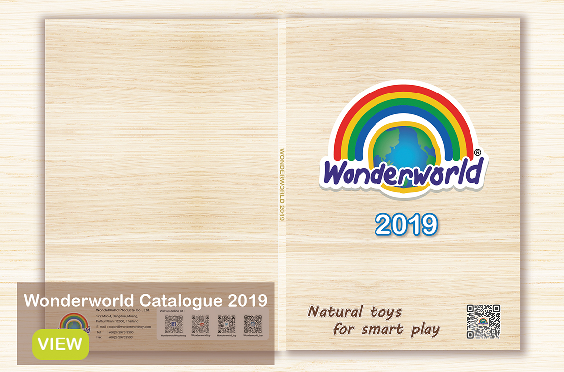 Wonderworld toy - Natural wooden toys for smart play