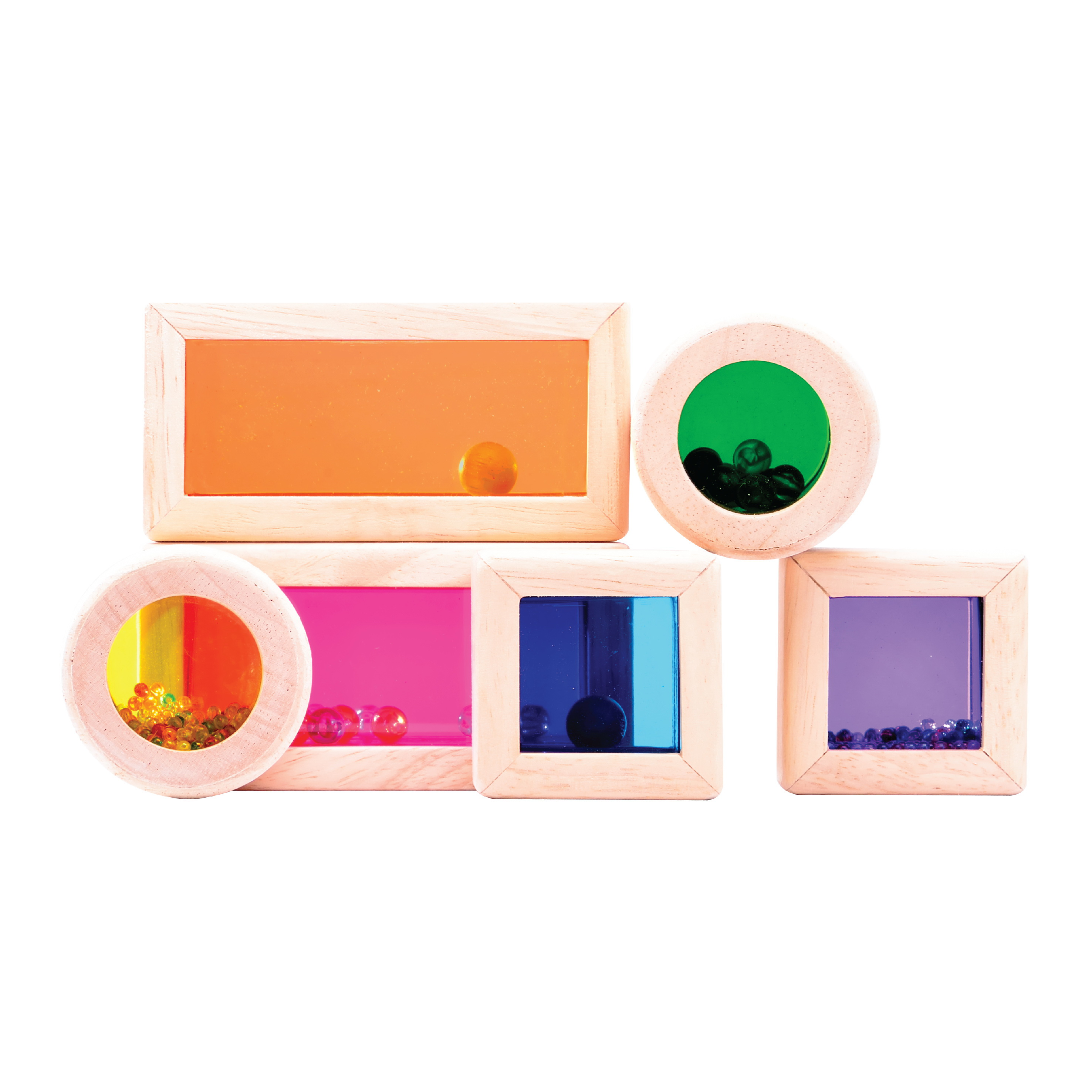 WW-1088 RAINBOW SOUND BLOCKS | Wonderworldtoy - Natural toys for smart play