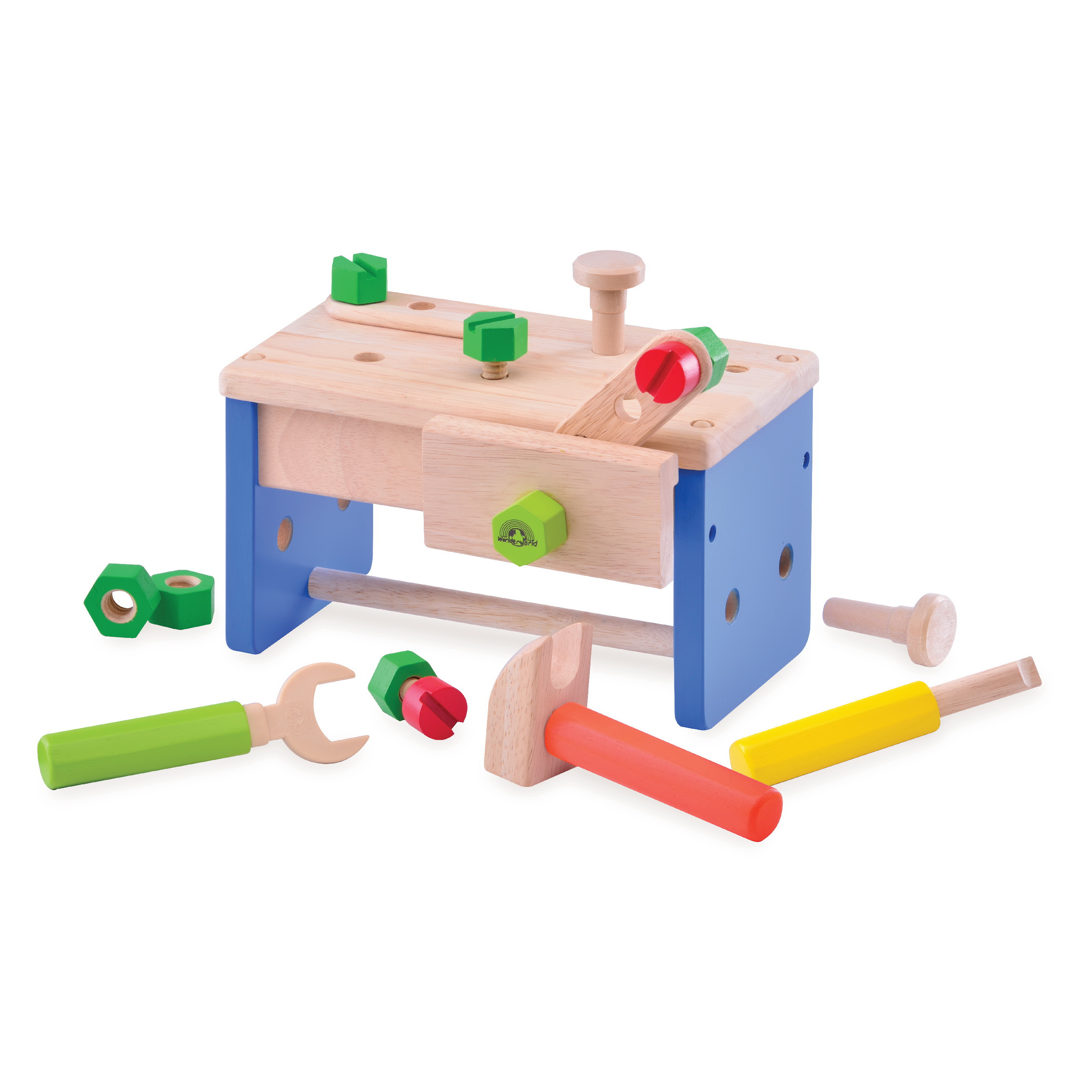 Ww 4519 Work Bench N Box Wonderworldtoy Natural Toys