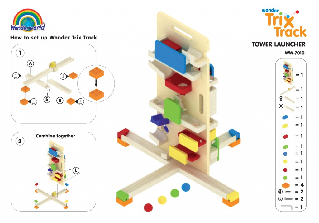 WW-7010 TOWER LAUNCHER | Wonderworldtoy - Natural toys for ...